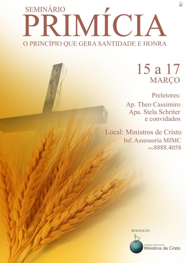 Seminário Primícia Ministros de Cristo RN
